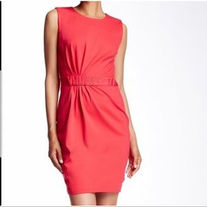 Ted Baker Pink Millee Bow Waist Dress